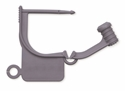Picture of Special Colour Locking Tags Gray - Plain, 100/Pkt