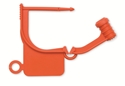 Picture of Special Colour Locking Tags Orange - Plain, 100/Pkt