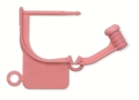 Picture of Special Colour Locking Tags Pink - Plain, 100/Pkt
