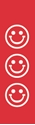 """Picture of Identification Sheet Tape - Patterned Red/White Smiley Faces, 1/4"""" x 374"""""""