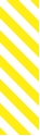 "Picture of Identification Sheet Tape - Diagonal Stripe White/Yellow, 1/4"" x 374"""