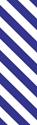 "Picture of Identification Sheet Tape - Diagonal Stripe White/Purple, 1/4"" x 374"""