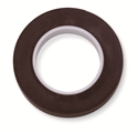 "Picture of Identification Roll Tape - Solid Colour Brown, 3/8"" x 250"""
