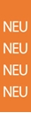"Picture of Identification Sheet Tape - Patterned Orange/NEU, White, 1/4"" x 374"""