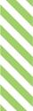 "Picture of Identification Sheet Tape - Diagonal Stripe White/Lime Green, 1/4"" x 374"""