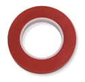 "Picture of Identification Roll Tape - Solid Colour Red, 3/8"" x 250"""