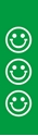 "Picture of Identification Sheet Tape - Patterned Green/White Smiley Faces, 1/4"" x 374"""