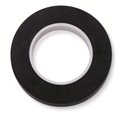 "Picture of Identification Roll Tape - Solid Colour Black, 3/8"" x 250"""