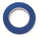 "Picture of Identification Roll Tape - Solid Colour Blue, 3/8"" x 250"""