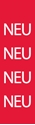"""Picture of Identification Sheet Tape - Patterned Red/NEU, White, 1/4"""" x 374"""""""