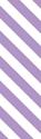 "Picture of Identification Sheet Tape - Diagonal Stripe White/Lavender, 1/4"" x 374"""