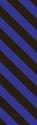 "Picture of Identification Sheet Tape - Diagonal Stripe Black/Purple, 1/4"" x 374"""