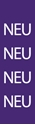 "Picture of Identification Sheet Tape - Patterned Purple/NEU, White, 1/4"" x 374"""