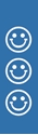 "Picture of Identification Sheet Tape - Patterned Blue/White Smiley Faces, 1/4"" x 374"""