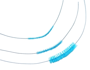 Picture of Polyester Bristles Channel Cleaning Brush - Centered