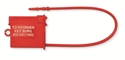 "Picture of Breakaway Instrument Identification Tags Red, 8"" 100/Pkt"