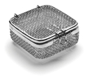 Picture of Micro Mesh Instrument Trays With Lid, 70 x 70 x 30mm, 1/Pkt
