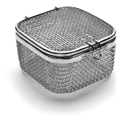 Picture of Micro Mesh Instrument Trays With Lid, 90 x 90 x 50mm, 1/Pkt
