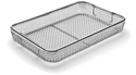 Picture of Mesh Instrument Trays With Drop Handles, 380 x 250 x 50mm, 1/Pkt