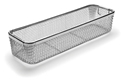 Picture of Mesh Instrument Trays With Drop Handles, 500 x 150 x 100mm, 1/Pkt