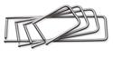 """Picture of Instrument Stringers - Ball & Socket German Stainless Steel - 2.5 x 4"""", 1/Pkt"""