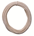 """Picture of Cotton Pipe Cleaners 50' x 1/4"""", 50 feet roll"""