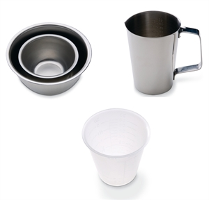 Picture of Stainless Steel & Plastic Cups