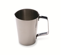 "Picture of Stainless Steel & Plastic Cups Stainless Steel Graduated Measuring Cup, 16 ounces 3.75"" x 4.6"" 1/Pkt"