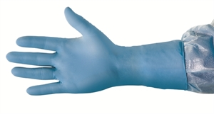 "Picture of 12"" Nitrile-Rubber Examination Gloves"