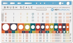 Picture of Brush Gauge - French Catheter Scale