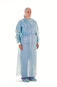 "Picture of Impervious Barrier Gowns Impervious Barrier Gown, Blue, 63"" (160cm) long, 50/Pkt"