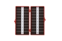 Picture of Magnetic Needle Counters Dual Magnetic, 20 count, Solid Lid, Red, Sterile