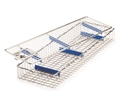 Picture of Stainless Steel Scope Baskets Stainless Steel Scope Basket with Silicone Inserts