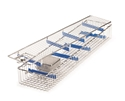 Picture of Stainless Steel Scope Baskets Stainless Steel Scope Basket with Silicone Inserts - includes small lens basket with fixed bracket