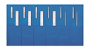 Picture of Duraholder Instrument Protection System Duraholder IPS, 2 rows of 6 pockets, 25cm x 46cm
