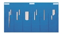 Picture of Duraholder Instrument Protection System Duraholder IPS, 2 rows of 6 notched pockets with taped closure strips, 25cm x 46cm