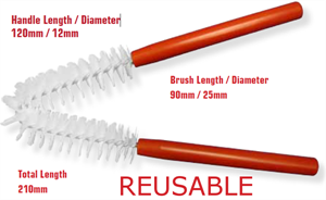 Picture of External (V-Brush) Scope Cleaning Brushes