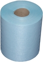 Picture of Wipe Rolls Sontara Creped Turquoise Rolls, 69gsm, 28 x 38cm