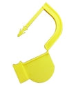 Picture of Yellow, EasyTwist Padlock Security Locking Tags Original Size with Indicator Dot - 200/pack