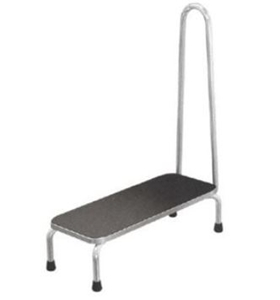 Picture of Single Step Footstool with Handrail
