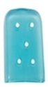 Picture of Tip Caps Osteotome Blue Tint Vented, 19.1mm x 25.4mm 50/Pkt