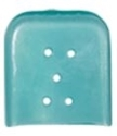 Picture of Tip Caps Osteotome Blue Tint Vented, 31.8mm x 31.8mm 50/Pkt