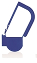 Picture of Blue, EasyTwist Padlock Security Locking Tags - 100/pack