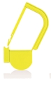 Picture of Yellow, EasyTwist Padlock Security Locking Tags - 100/pack