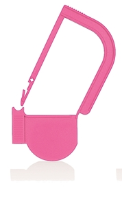 Picture of Pink, EasyTwist Padlock Security Locking Tags - 500/pack