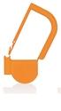 Picture of Orange, EasyTwist Padlock Security Locking Tags - 200/pack