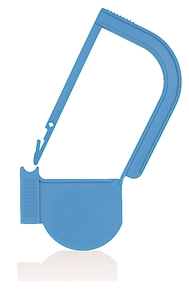 Picture of Light Blue, EasyTwist Padlock Security Locking Tags - 100/pack