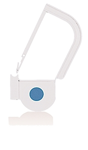 Picture of White, EasyTwist Padlock Security Locking Tags with INDICATOR DOT - 500/pack