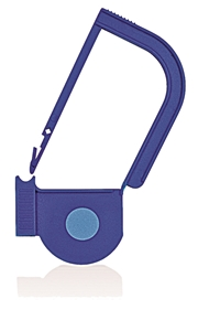 Picture of Blue, EasyTwist Padlock Security Locking Tags with INDICATOR DOT - 100/pack