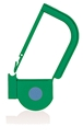 Picture of Green, EasyTwist Padlock Security Locking Tags with INDICATOR DOT - 100/pack